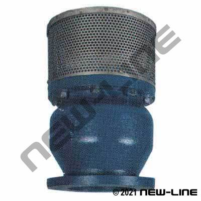 Flanged Heavy Duty Cast Iron Foot Valve