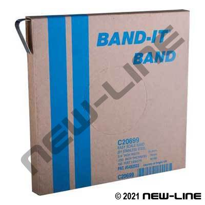 Standard 201 Stainless Steel Strap (100Ft/Roll)
