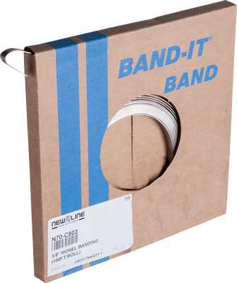 Monel Banding (100Ft/Roll)