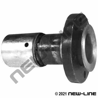 Swage Carbon Steel 300 Floating Flange With Ferrule