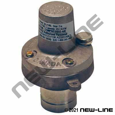 Grooved High-Volume Relief Valve