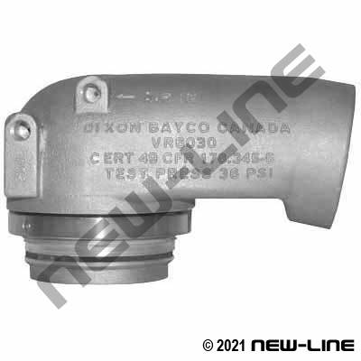 Tank Truck Drop Elbows, Camlocks, Adapters, and Fittings