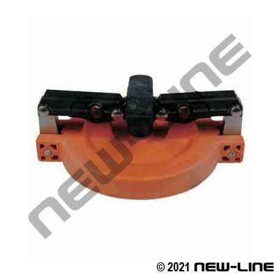 Orange Fiberglass Vapour Cap For 611T