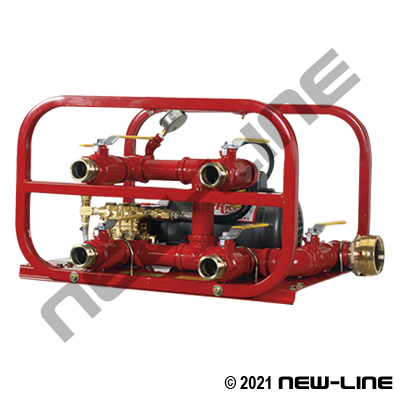 Electric Driven Test Pump for 1-4 Hoses to 500-800psi