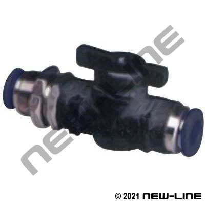 PTC Imperial Tube Bulkhead Union Ball Valve