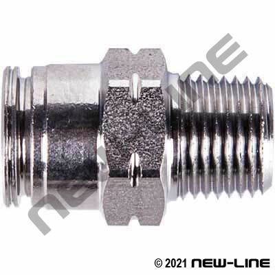 316 Stainless Steel Push to Connect Tube x MNPT Connector