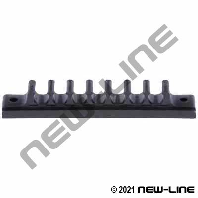 Tube Channel / Rack (Straight) with 7 Slots