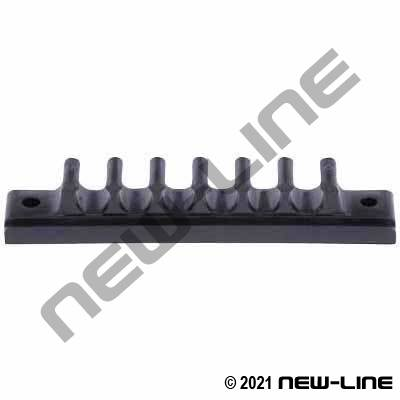 Tube Channel / Rack (Straight) with 6 Slots