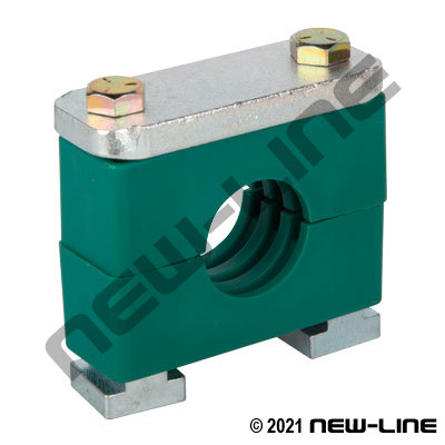 Green Heavy Series Rail Nut Clamp