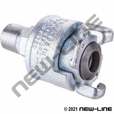 Male NPT Universalock Safety Coupling