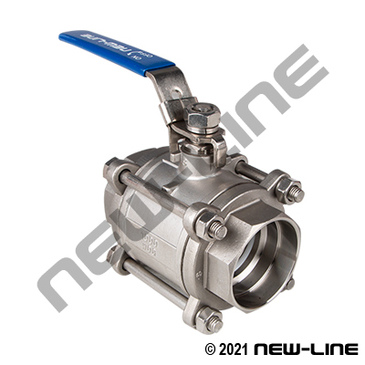 1000# SS316 Socket Weld Ball Valves