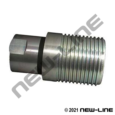VFF-HD Series Steel 5000# Nipple For HD Wing x Female NPT