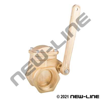 Brass Generic Quick Opening Lever Gate Valve