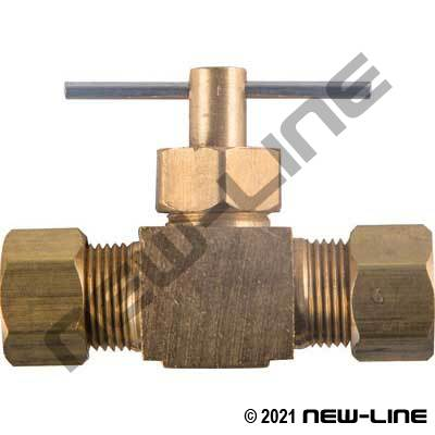 Compression Union Needle Valve