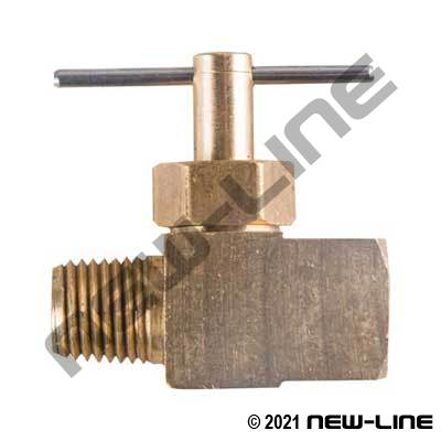 Female NPT x Male NPT Needle Valve