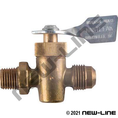 Flare x Male NPT Premium Ground Plug Valve