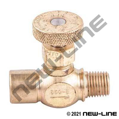 Male NPT x Female NPT Needle Valve