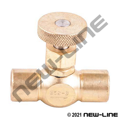 Female NPT x Female NPT CGA Needle Valve