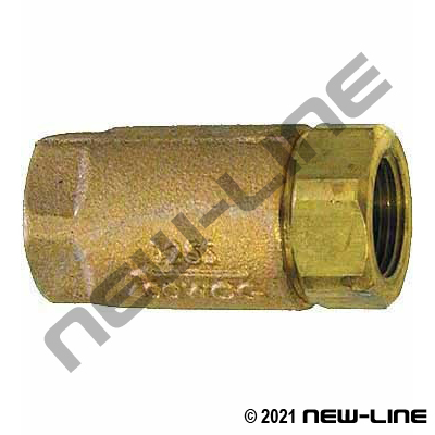 Bronze Ball-Cone Check Valve