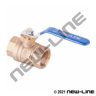 Brass Full Port Ball Valves - NPT