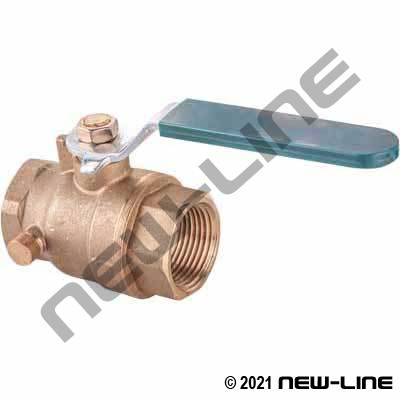 Brass Full Port Ball Valves/Side Bleeder(Stop & Drain/Waste)