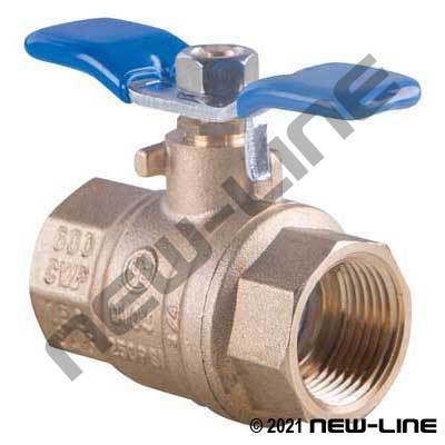 Brass Ball Valve with Wing Handle