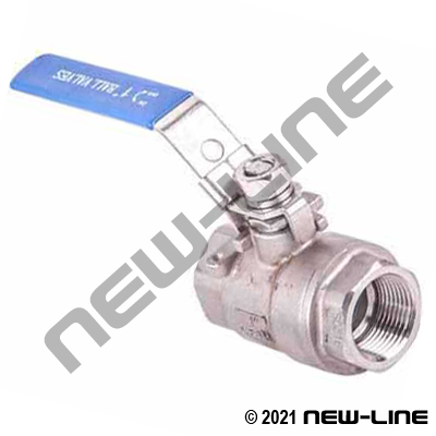 Stainless Steel Full Port 2000 WOG Ball Valve