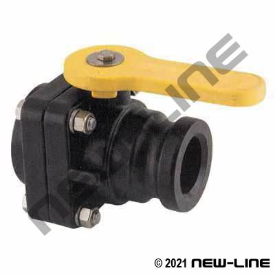 Female NPT x Part A Female Pipe Polypropylene Ball Valve