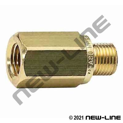 #250 Female NPT x Male NPT In-Line Check Valve
