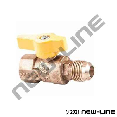 Female NPT x Male SAE Flare CGA Ball Valve