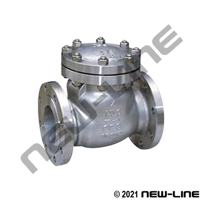 Steel 125# Flanged Cast Swing Check Valve Class 150