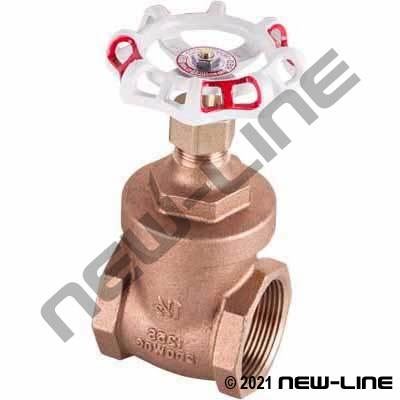 Red White #206A Bronze Gate Valve