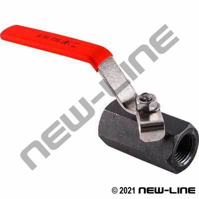 NPT 1-Pc Carbon Steel Ball Valve