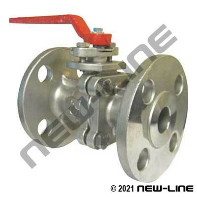 150# SS316 Ball Valves CL150 with Mount Pad