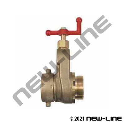 Brass Standpipe Fire Hydrant Gate Valve