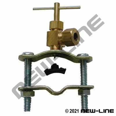 Copper Tube Self Tapping Valve Assembly