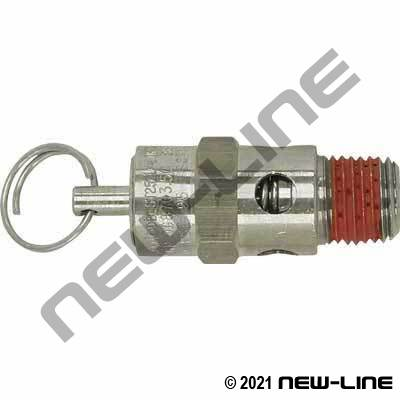 Male NPT SS Safety Relief Valve