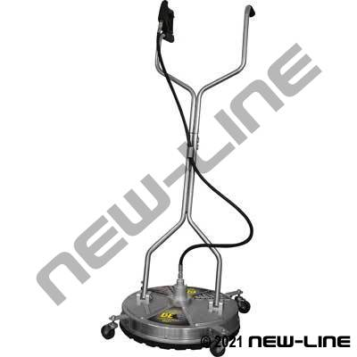 "20"" Stainless 4000 PSI Surface Cleaner with Wheels"
