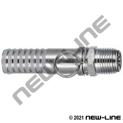 Hose X Male NPT All Stainless Steel Swivel