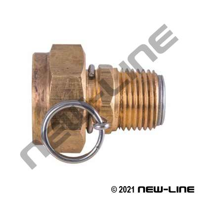 Stainless Steel Garden Hose Adapters
