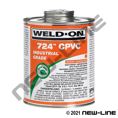 Weld-On 724 Cpvc Cement