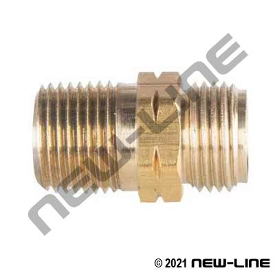 Acetylene x Male NPT Outlet Adapter