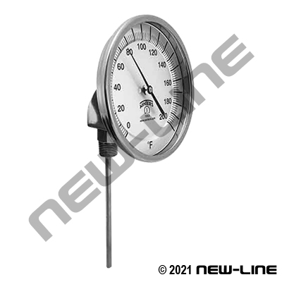 TBM Thermometer With Adjustable Stem