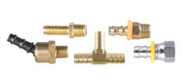 Brass Hose Inserts and Push-on Hose Barbs