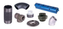 Black M.Iron, Galvanized M.Iron, Stainless, & Forged Steel Pipe Fittings