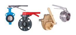 Knife & Butterfly Valves (Industrial)