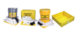Spill Pads, Contamination Response Kits, Berms