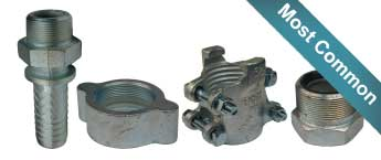 Dixon Boss Ground Joints (Interlocking Couplings)