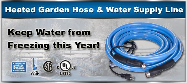Heater Garden Hose