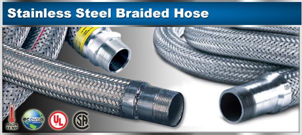 Braided Metal Hose - Welded